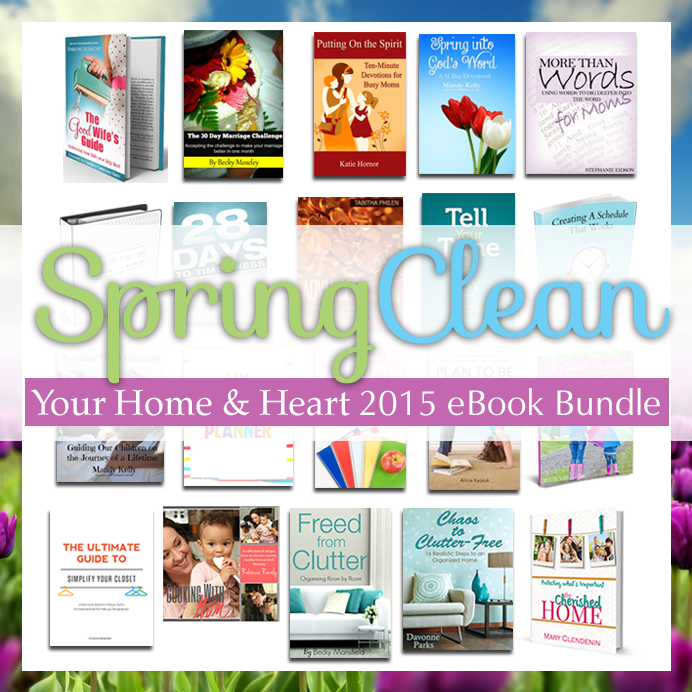 Spring clean your home and heart eBundle