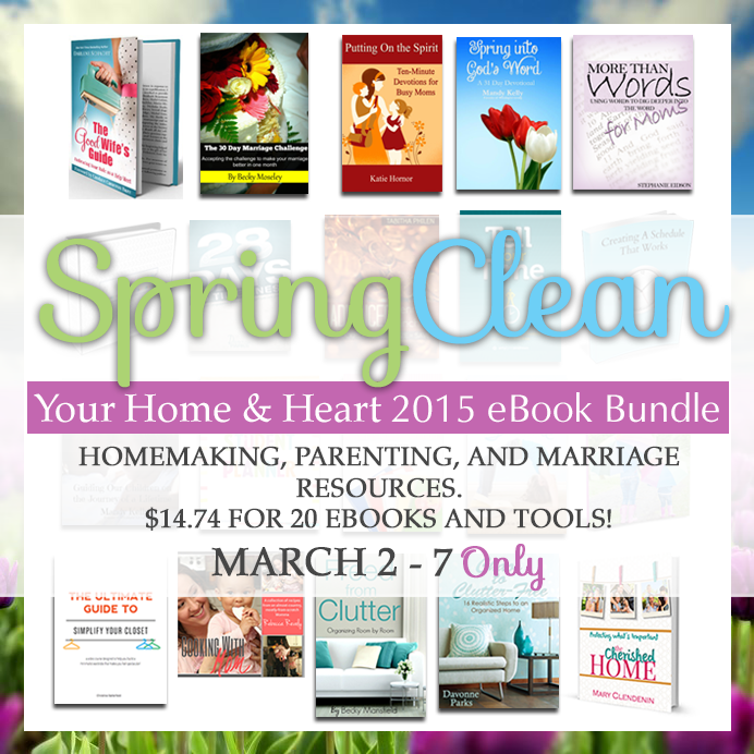 Spring Clean Bundle All books with dates