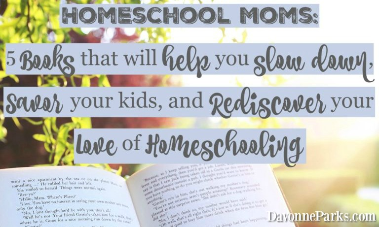 http://www.davonneparks.com/homeschool-mom-books/